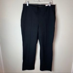 """CHICO's Black """"Ultimate Fit"""" Knit Straight Pants"""